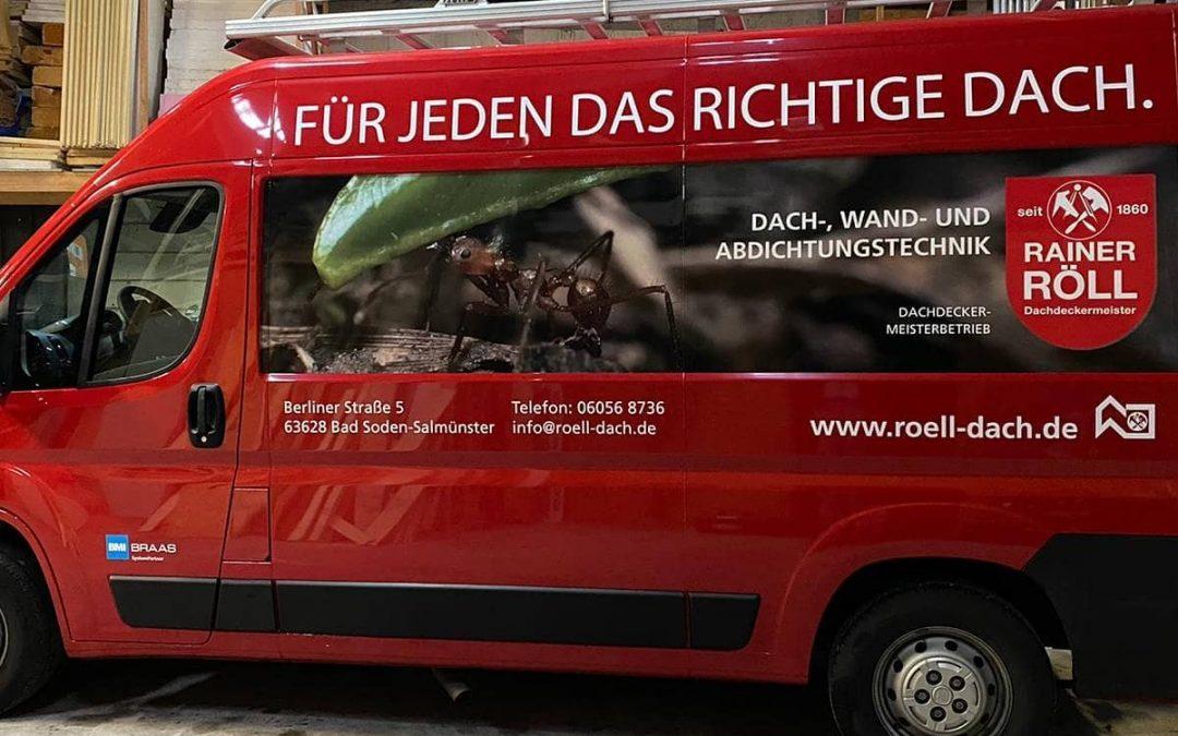 Fahrzeugbeschriftung für DDM Rainer Röll