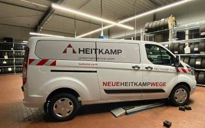 Fahrzeugbeschriftung für Heitkamp Unternehmensgruppe