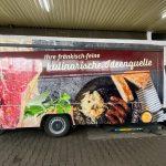 Fahrzeugvollverklebung für Metzgerei Reck