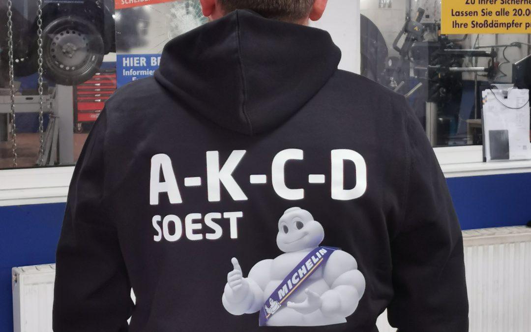 Textilveredelungen für A-K-C-D aus Soest
