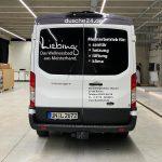 Fahrzeugbeschriftung für Oliver Liebing Bönen