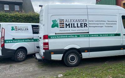 Fahrzeugbeschriftung Mercedes Sprinter in Bergkamen